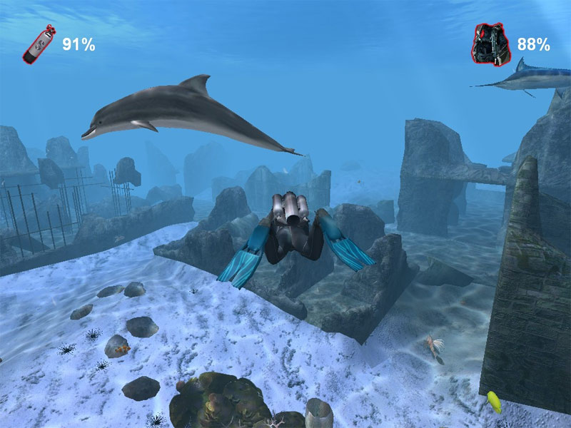 Click to view Diver: CheckDive +Underwater Screensaver 1.7 screenshot